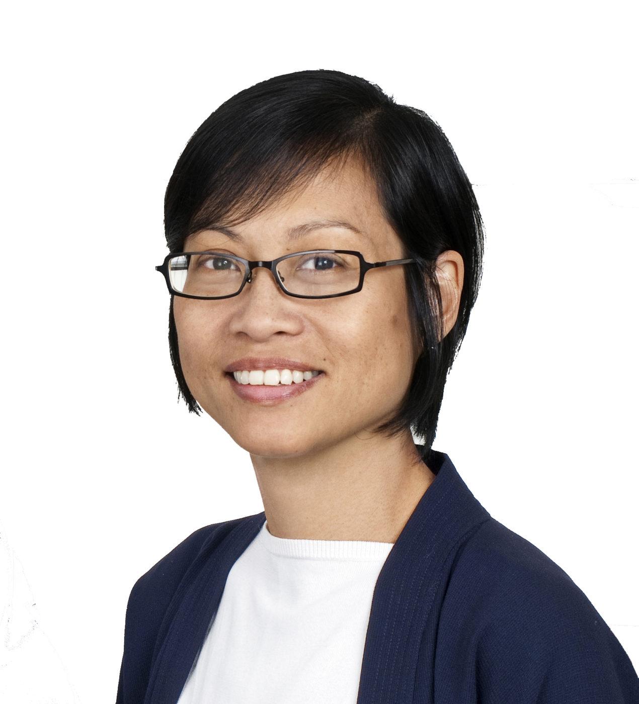 Kathy Chia portrait- white background